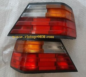 85-93 Mercedes Benz W124 pair of OEM taillights 300E 400E top quality