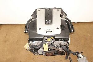 JDM 07 08 09 NISSAN 350Z INFINITI G35 VQ35HR REV UP 3.5L V6 ENGINE  VQ35 MOTOR