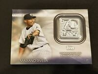 2021 Topps Series 1 70th Year Anniversary Patch #70LP-MR Mariano Rivera Yankees