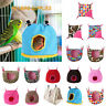 Pet Nest Plush Bird Cave Cage Warm Hanging Bed Hut Tent House Bed Parrot Hammock