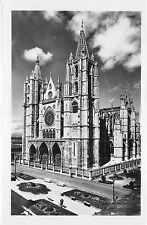 BR18922 Leon Fachada principal de la catedral spain