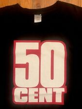50 CENT - Get Rich Or Die Tryin T-shirt (Size XXL) 2003 G-Unit Dr Dre Eminem