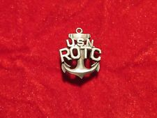 US Navy  ROTC pin back 1 inch  sweetheart USN Home Front