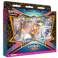 Pokemon Shining Fates Mad Party Pin Collection featuring Galarian Mr. Rime