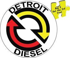 Detroit Diesel DDC Trucks NHRA Drag Racing Kenworth Peterbilt Decal Sticker #425