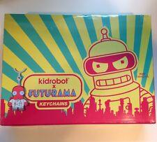 Kidrobot FUTURAMA Keychains CASE of 20 SEALED NEW key chains Blind Box