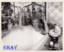 Judy Holliday in bubble bath  VINTAGE Photo It Should Happen To You
