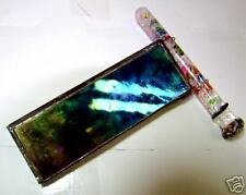 stained glass tube Kaleidoscope Hand crafted in the USA