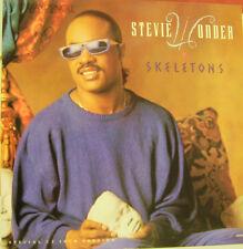 STEVIE WONDER-SKELETONS MAXI VINILO SPAIN EX-EX
