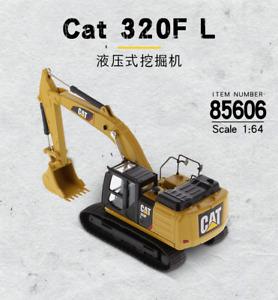 1/64 Caterpillar CAT 85606 320F L Hydraulic Excavator Metal Engineer Truck Model