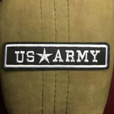 ARMY Patch Badge Embroidered Camouflage Military Stars Insignia Iron-On