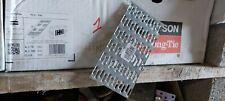 Lot de 10 Plaques de réparation à griffes A 76mm B 152mm simpson