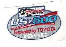 Crest Patch - Nascar - Michigan Speedway - U.S. 500 - Presented by Toyota 1998