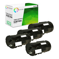 4Pk TCT S2810dn For Dell 593-BBMF High Yield Black Compatible Toner Cartridge
