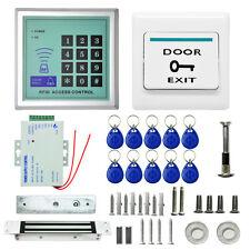 400 LBs Kit Electric Door Lock RFID Access Controls ID Card/Password System HK