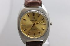 Vintage Original Sandoz 17j Hand Wind Wristwatch Men's Watch Running
