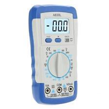 Digital LCD Display Auto Multimeter Avometer Voltage Resistance Current Meter