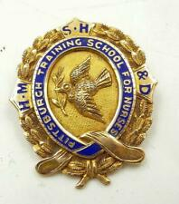 1917 Pittsburg Nursing Graduation Named Pin Antique 14K Yellow Gold (6.9 Gram)