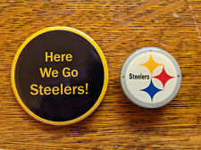 Pittsburgh Steelers Blinking Light Pin/Pendant Plus Steeler Pin - very unique!