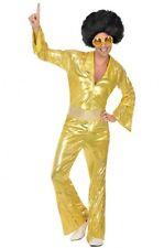 Déguisement Homme Disco Doré M/L Costume Adulte Année 1980