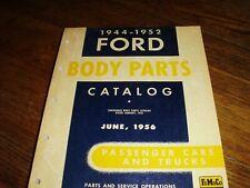 New ListingFord Parts Manual Book Car & Truck Body Catalog 1944-1952