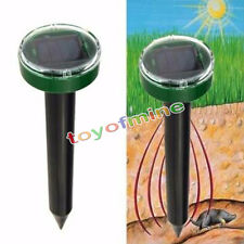 Eco-Friendly Solar Power Ultraschall Gopher Maulwurf Schlange Maus Pest Repeller