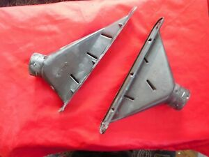 1966 1967 Plymouth Belvedere GTX Satellite B Body OEm Defroster Ducts READ AD