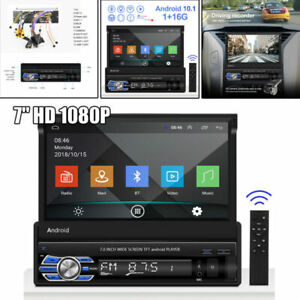 7'' 2DIN Android 10.1 Touchable Bluetooth GPS Car MP5 Player Multi-language