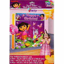Dora the Explorer Party Decorations Girls Birthday Supplies Scene Setter