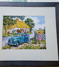 Country Idyll - Kevin Walsh Cross Stitch Chart - Cottage scene