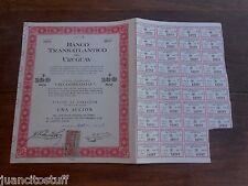 1959 Uruguay BANCO TRANSATLANTICO Bank bond