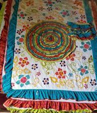 Pier 1 Kids Bedding Comforter Blanket pillow cover rug Boho Bohemian Floral Fs