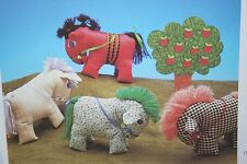 Pony/Horse Toy/ Pin Cushion Sewing Pattern (PN040)