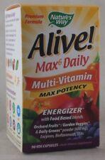 jlim410: Nature's Way Alive! Max6 Multi-Vitamin, 90 VCaps (w/ Iron)