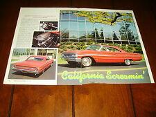 1964 FORD GALAXIE 500 XL  ***ORIGINAL 1992 ARTICLE***