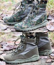 Men Outdoor Army Tactical Boot Military Combat Desert Boot Lightweight Swat Shoe