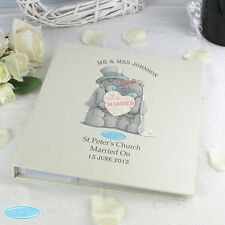 Me To You Wedding Day Photo Album - Personalised Gift - Bride and Groom Gift