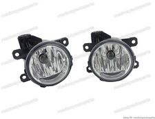 FRONT BUMPER FOG LIGHTS LAMPS BULBS PAIR for Ford Fusion Mondeo 2013-2016