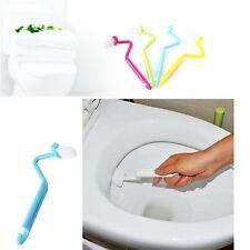 Badzimmer WC-Bürste mit gebogenem Griff Lokus Reinigungsbürste V-Form Bürste HIT