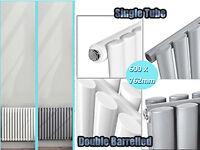 Vertical Designer Radiator Tall Upright Oval Column Panel Rad Central Heating