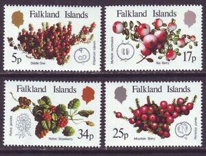 Falkland Islands 1983 SC 379-382 MNH Set Local Fruits