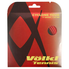 Volkl Cyclone Tour 17G/1.25MM Red Tennis String (   Red )