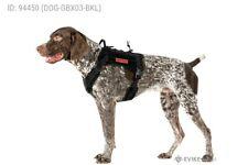 OneTigris Tactical Dog Harness - Fire Watcher Comfortable Patrol K9 Vest Black