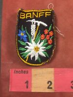 Vintage BANFF (Home Of BANFF National Park) Canada Patch 87NB