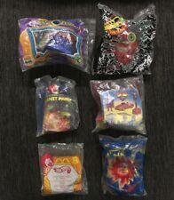 Lot Of 6 SEALED Burger King Mcdonalds Kids Meal Toys - Planet Patrol, Hotwheels
