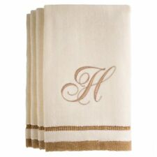 Monogrammed Gifts, Fingertip Towels, 11 x 18 Inches - Set of 4- Decorative