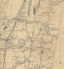 Pawling Holmes Quaker Hill NY 1867 Map with Homeowners Names Shown