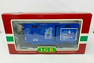 LGB 42313 G SCALE LOWENBRAU BEER GOODS BOXCAR NEW IN BOX