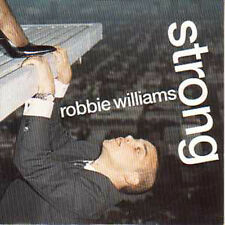 ★☆★ CD Single Robbie WILLIAMS Strong 2-track CARD SLEEVE ★☆★