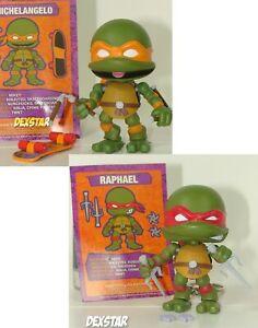 Loyal Subjects Teenage Mutant Ninja Turtles Michelangelo Raphael Figure Lot TMNT